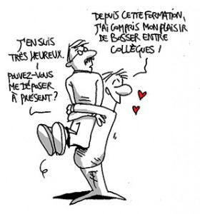 Caricature supervision